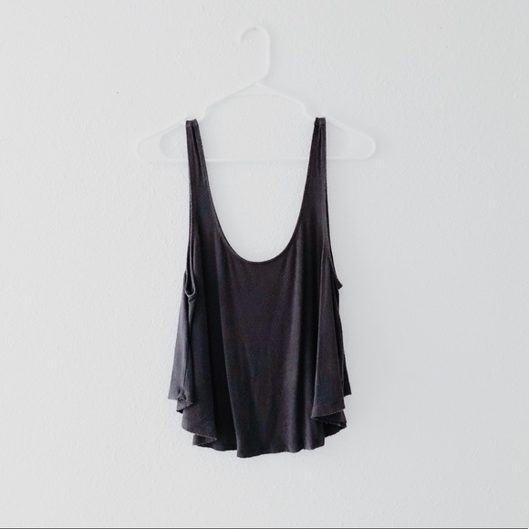 American Eagle Outfitters Tops - Grey Scoop Neck Tank